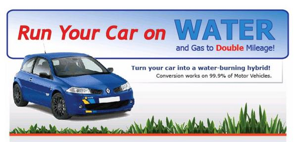 Product picture Water To Gas - Install on any Car To Save Gas Using Water