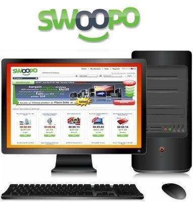 Product picture New,improved and Working Swoopo Clone Script